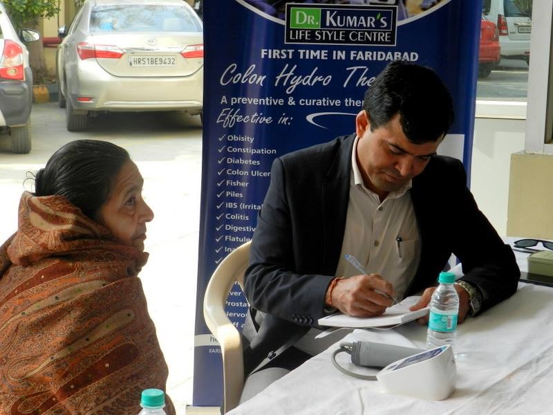 Patient Consultation by Dr. K. Kumar