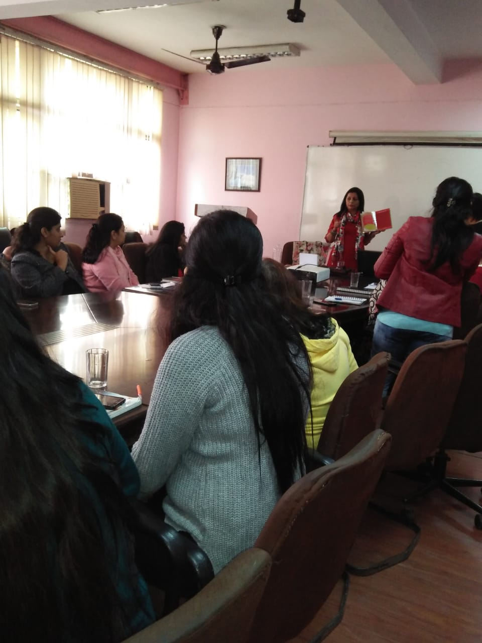 Dr. Renu Arora Training Session